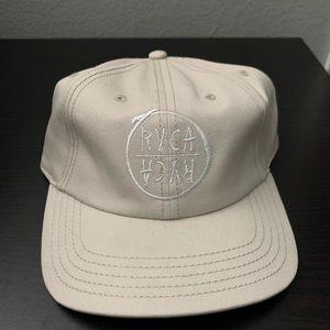 Rvca cream dad hat / ball cap
